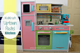kidkraft uptown pastel kid kitchen arts u0026 crackers