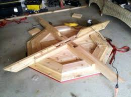 How To Build A Wooden Octagon Picnic Table by Enchanting Octagon Picnic Tables Plans And Ana White Octagon