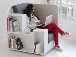 Bookshelf Seat Openbook Lounge Chair Comes With Bookshelves And Magazine Racks