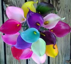 calla colors silk flowers by jean calla wedding