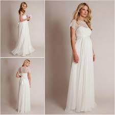 Pregnancy Wedding Dresses Maternity Wedding Dress With Sleeves Wedding Corners