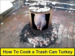 can turkey stand how to cook a trash can turkey