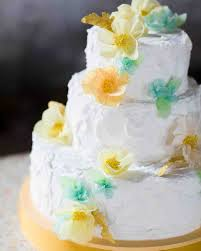 spring wedding cakes that are almost too pretty to eat martha
