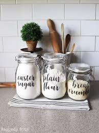 organise your pantry with farmhouse pantry labels raggedy bits