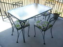Glass Top Patio Table And Chairs Glass Table Patio Furniture Travel Messenger