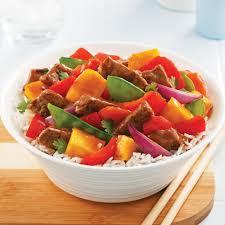 legumes cuisine sauté au boeuf légumes et mangue recettes cuisine et