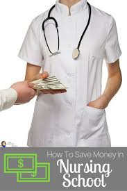 how to save money in nursing