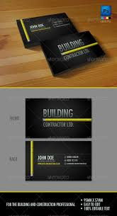 Business Card Design For It Professional Best 25 Construction Business Cards Ideas On Pinterest