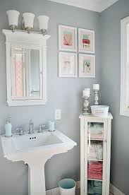 Bathroom Pedestal Sink Ideas Small Bathroom Sinks With Storage With Regard To Existing