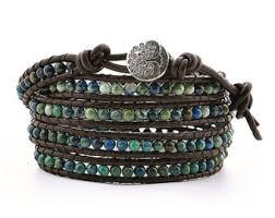 bead wrap bracelet leather images Beaded wrap bracelet etsy jpg
