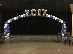 dance floor balloon arch for a year 6 graduation party www