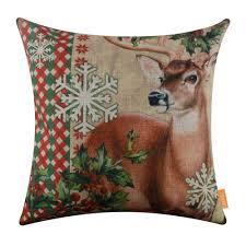 online get cheap red deer cushion aliexpress com alibaba group
