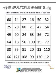 math multiplication games