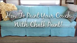 how to paint your couch with chalk paint rv living