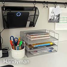 Desk Organization Diy 8 Home Office Desk Organization Ideas You Can Diy Family Handyman