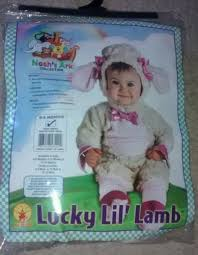 Lamb Halloween Costume Halloween Child Lucky Lil Lamb 0 6 Months Newborn Costume Infant