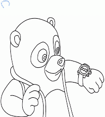 special agent oso printable coloring pages coloring