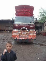 nissan pakistan the peshawar truck yards the velvet rocket