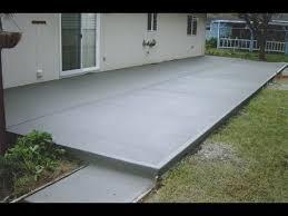 heres an inexpensive concrete patio concrete patios denver patio