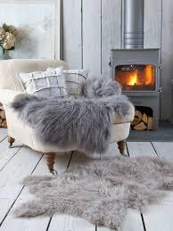 10 ways to decorate with a sheepskin rug
