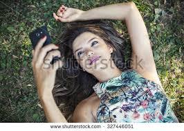 Take A Selfie Beautiful Takes Selfie Stock Photo 243531766 Shutterstock
