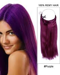 purple hair extensions purple 100 remy hair flip in human hair extensions