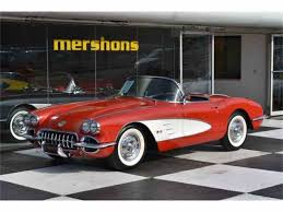 5th generation corvette 1958 chevrolet corvette for sale on classiccars com 19 available