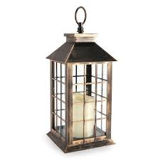 indoor outdoor led candle lantern table decor