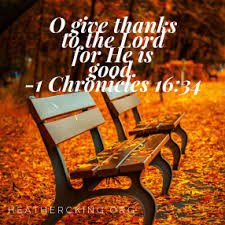bible verses and a prayer for thanksgiving c king