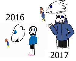 Sans Meme - improvement meme sans vs frisk weasyl