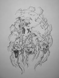 gears of war tattoo designs for men dogs of war tattoo drawings
