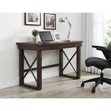 Ameriwood Computer Desk Ameriwood Home Wildwood Mahogany Veneer Desk Free Shipping Today