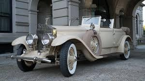 rolls royce vintage phantom 1929 rolls royce phantom auto museum exhibit newport ri