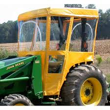 tractor cab for john deere 1000 and 2000 series tractors requires