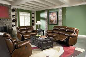 Recliner Leather Sofa Set Morrell Leather Reclining Sofa Set Sofa Sets