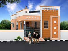 South Indian House Front Elevation Designs For Single Floor
