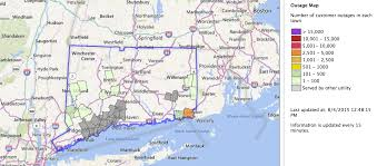 Block Island Map Thousands Lost Power In Rhode Island And Connecticut Following