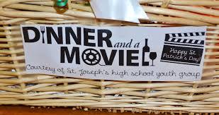 Movie Baskets Dinner U0026 A Movie U0027 Gift Basket Life As A Leachman