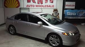 honda civic si for sale in ohio 2007 honda civic si for sale at knh auto sales akron ohio
