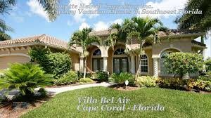 Cape Coral Luxury Homes For Sale by Villa Bel Air Cape Coral Florida Youtube