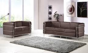 2 Seater Sofa With Chaise Aliexpress Com Buy U Best Le Corbusier Lc2 Sofa Set Lc2 2 Seater