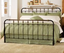 Iron King Bed Frame Wrought Iron King Bed Frame Boston Bed Charles P Rogers Beds