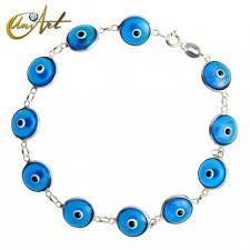 bracelet blue evil eye images Buy evil eye silver bracelet jpg