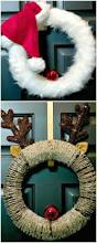 best 25 homemade christmas wreaths ideas on pinterest diy