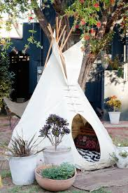 Backyard Teepee Childrens Teepee Landscape Eclectic With Grass Kids Lawn Outdoor
