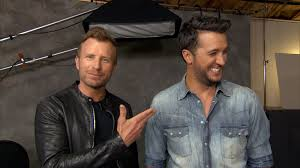 dierks bentley brother blake shelton crashes luke bryan performance at the acm awards