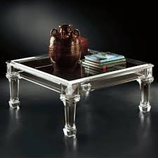 coffee tables appealing square acrylic coffee table with tapered