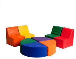 Sofas For Kids by Softzone 8 Piece Sectional Contemporary Kids Sofas By Ecr4kids