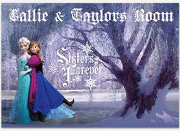 Disney Frozen Bedroom by Decorate With Disney Frozen Wall Sticker Outlet Design Blog