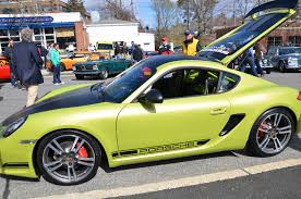 porsche cayman green porsche cayman r build speedsport tuning sst auto